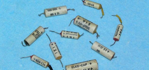 Новые конденсаторы